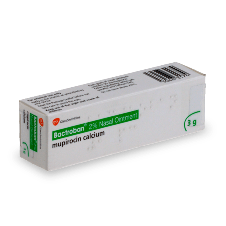 Buy Bactroban Cream Online, Nasal Ointment - Treated.com UK
