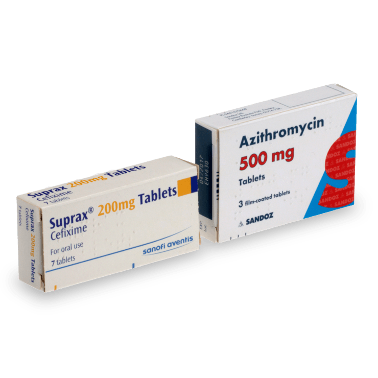 Buy Gonorrhoea Antibiotics Treatment Online - £49.00