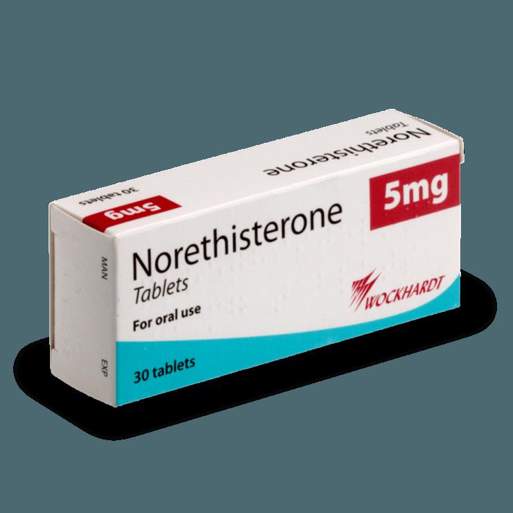 Norethisterone til udskydelse af menstruation