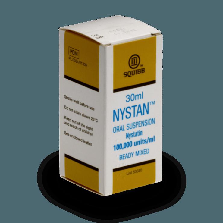 Nystan Oral Suspension