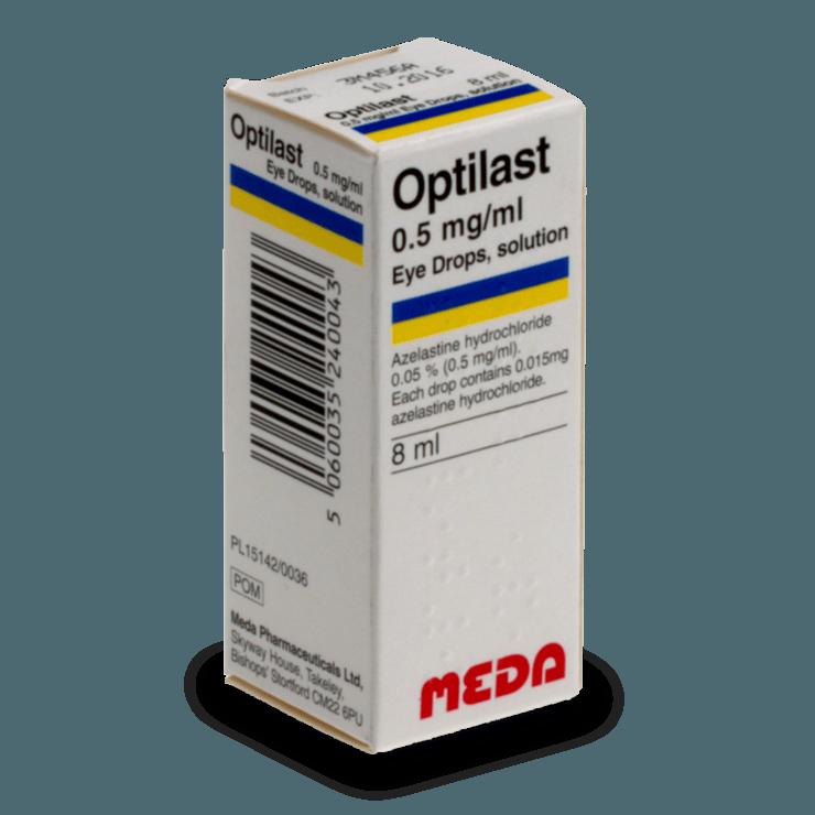 Optilast (Allergodil colírio)
