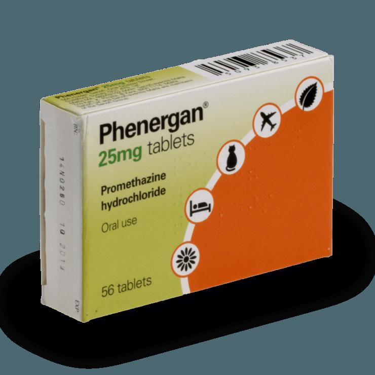 Acheter Phenergan en ligne, livraison rapide | treated.com