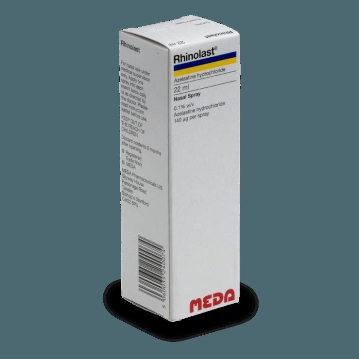 Rhinolast (Allergodil spray nasal)