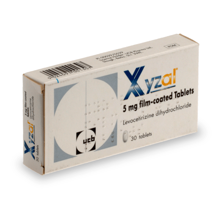 Buy Xyzal Online, Tablets & Oral Solution - UK Pharmacy
